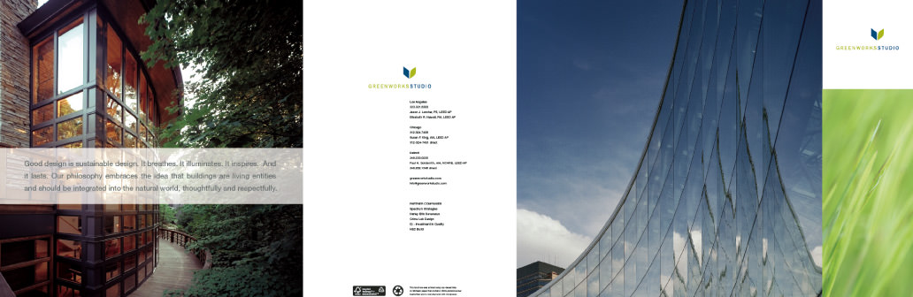 Greenworks studio brochure