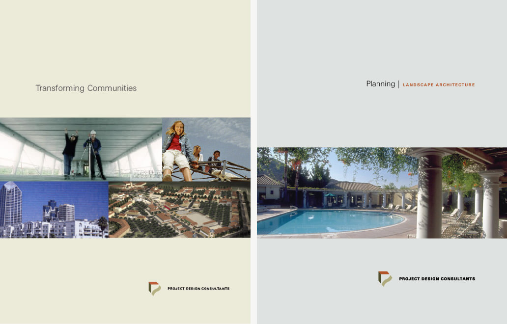 project design consultants brochure covers