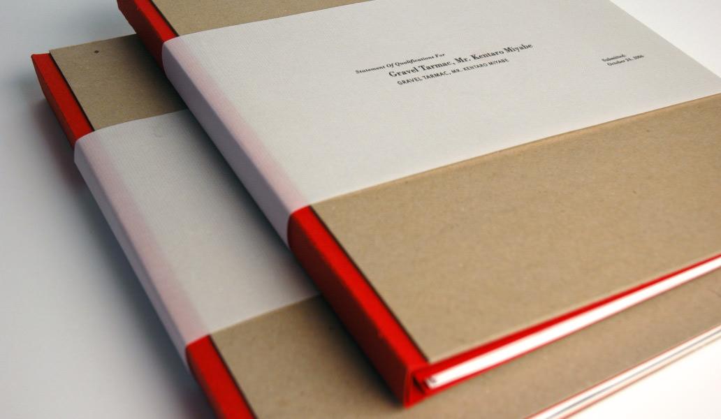 ROESLING NAKAMURA TERADA ARCHITECTS binder design