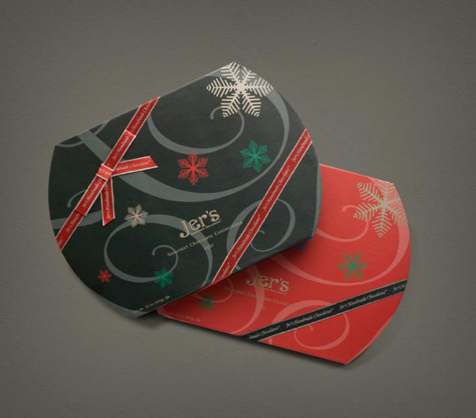 Jer's Handmade Chocolates xmas boxes