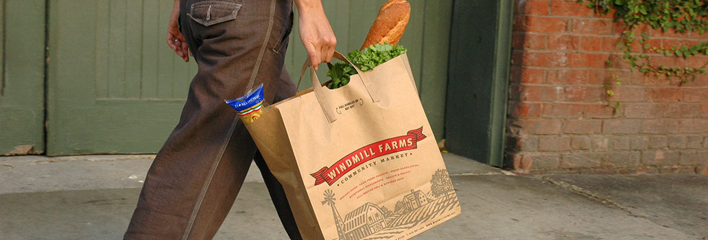 Windmill Farms grocery bag