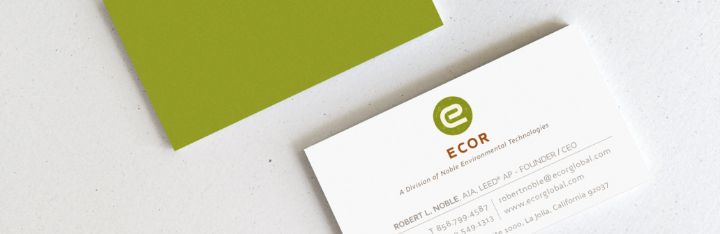 eCor Business Cards