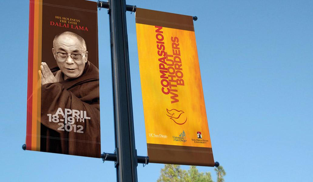 Dalai Lama Banners