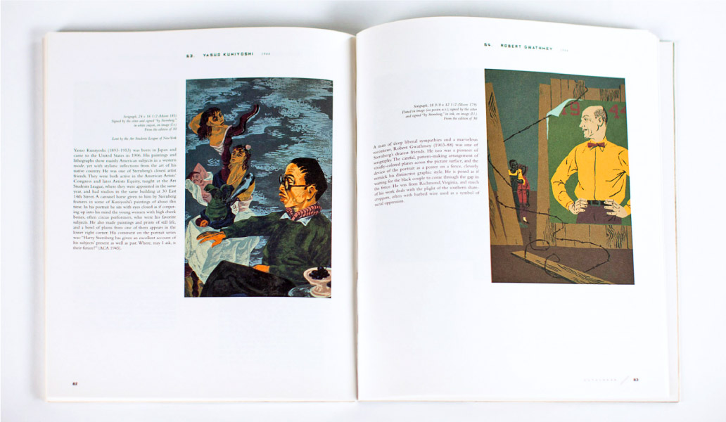 Harry Sternberg book Open Spread
