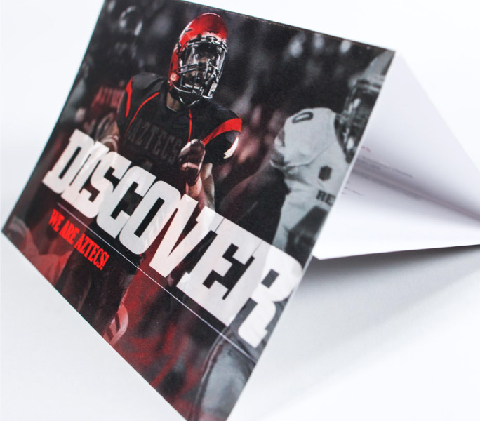 SDSU aztecs football event invitation