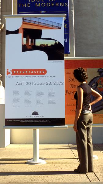 i5 resurfacing exhibit poster design