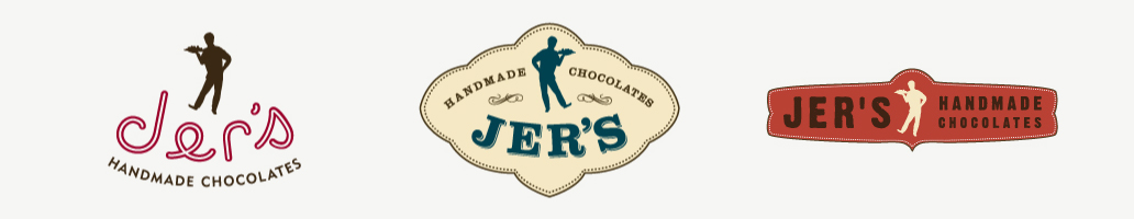 Jer's Handmade Chocolates Identities