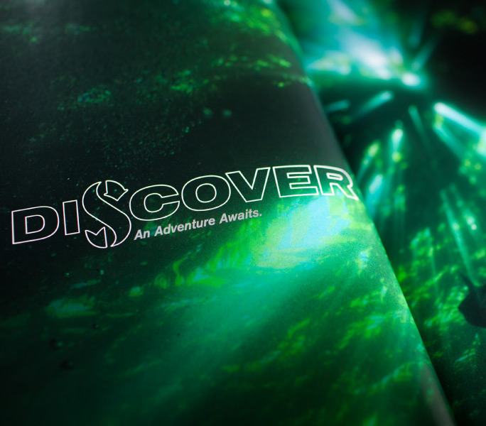 "ScubaPro ""Discover"" page in brochure"