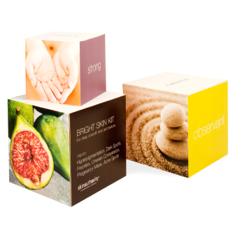 Skin authority promotional boxes