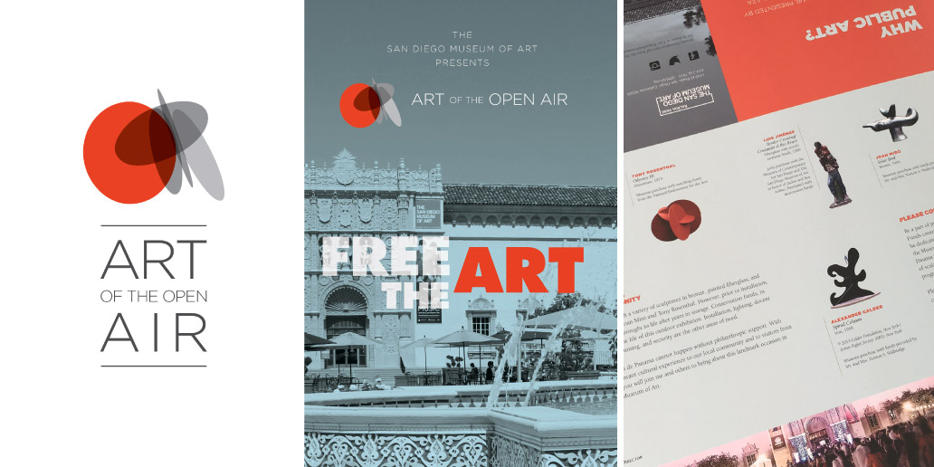 Art of the open air and free the art brochure