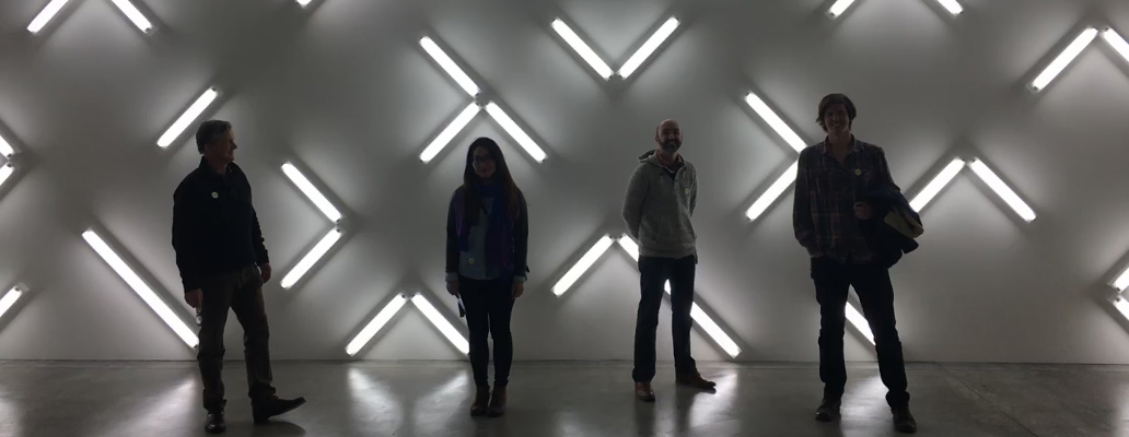 Blik team at the Museum of Contemporary Art