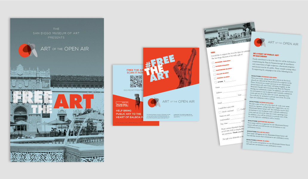 Art of the open air printed materials